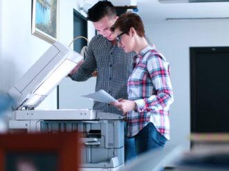 utiliser une imprimante laser